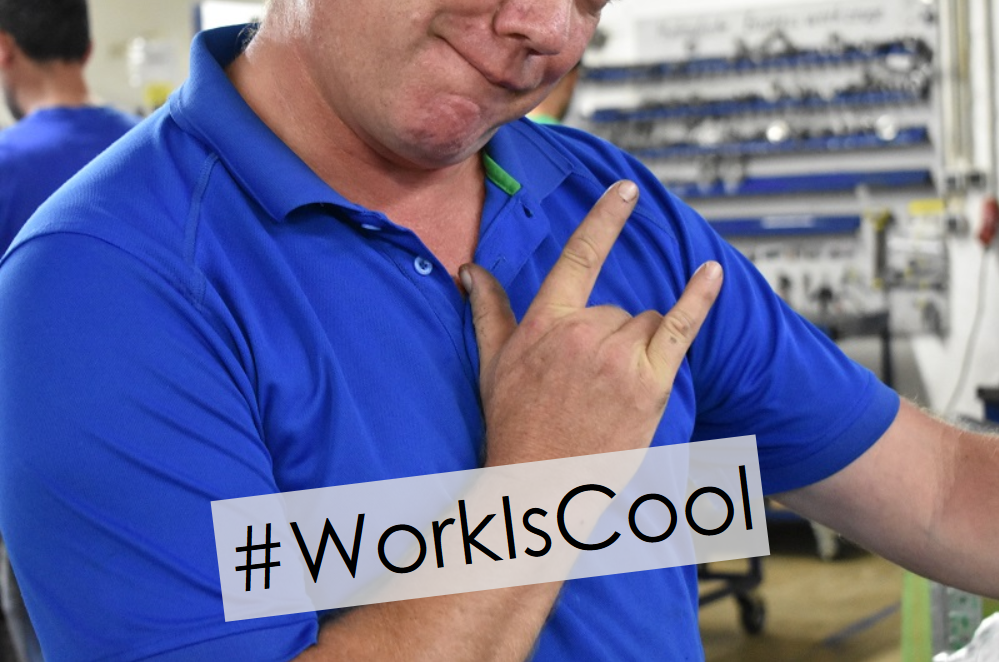 #WorkIsCool