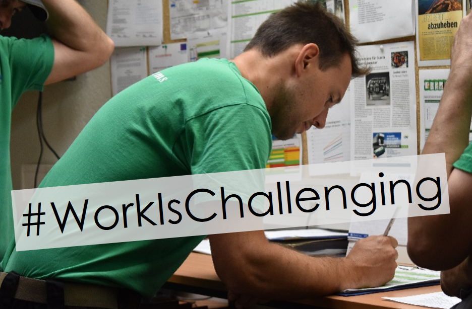 #WorkIsChallenging