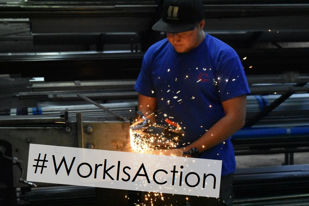 #WorkIsAction